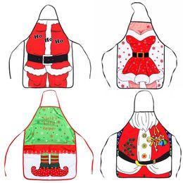 Engraçado casa presentes on-line-Personalizados Unisex Natal Avental homens criativos e mulheres avental engraçado da novidade decoração do partido Xmas Home Kitchen presentes TTA1998