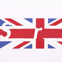 Banderas de alta calidad online-New19ss B0x Log0 Fashion Tee UK Flag Print T-shirt Hombre y mujer Camiseta blanca de algodón de alta calidad HFBYTX293