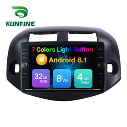 2019 android rav4 auto gps Octa Core 4 GB RAM 64 GB ROM Android 8.1 Car DVD GPS Player Navigazione stereo per auto Toyota RAV4 2007-2012 Radio Unità principale No Disc sconti android rav4 auto gps