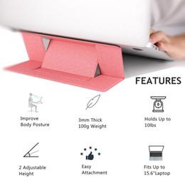Портативная невидимая подставка для ноутбука Ультратонкая бесшовная съемная регулируемая скоба подставки для ноутбука для ноутбука Apple MacBook от