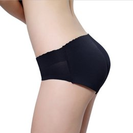 Shapers Control Panties Women Lady Push Up Middle Waist Panties Sponge Padded Shorts Briefs Underwear S72