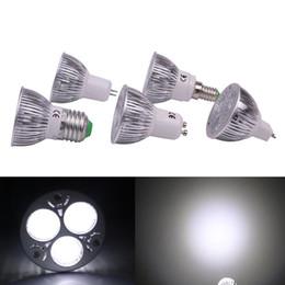 2019 lampadine a buon mercato a buon mercato all'ingrosso Lampadina LED 3W Faretto Foco LED 12V MR16 110V 220V E27 GU10 E14 Lampada Luci interne a risparmio energetico Lampada di illuminazione 100 Pezzi