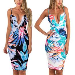 Use Calidad senos camisola acuarela impresión vestido de las mujeres Sha n desde fabricantes