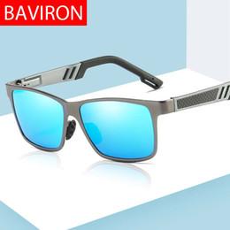 Baviron Männer Sonnenbrille Polarisierte Pilot Runde Sonnenbrille Männlichen Uva Uvb Metall Klassische Sonnenbrille Vintage Fahren Gespiegelt Drop Herren-brillen Bekleidung Zubehör