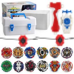 Goryscope fidget spinner 12 adet / kutu Dönen Top Metal Fusion Arena 4D bey bıçak Başlatıcısı Dönen Top Bcyblade Oyuncaklar çocuklar Için oyuncaklar nereden