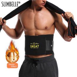 d8e33837b6eb2 Sweat Premium Waist Trimmer for Men   Women Hot Shapers Sauna Waist Trainer  Corset Body Shaper Black Slimming Belt