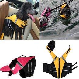 chaqueta para nadar Rebajas Moda para perros Chaleco salvavidas Ropa de seguridad para mascotas Chaleco salvavidas Perros de verano Ropa para nadar Nuevo perro Chaleco salvavidas