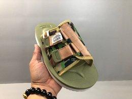 [Бесплатная маска] обувь Suicoke туфли на высоком каблуке ткань обувь женщины мужчины Дизайн папа обувь сандалии флип-флоп Leather1 от