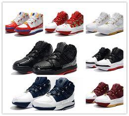 check out fd28b 8fd0f Großhandel 2019 New Lebrons 3 Home SuperBron Christus Der König Weiß Navy  Männer Basketball Schuhe Zoom James 3s CTK Mens Designer Trainer Von  Shoesgo, ...