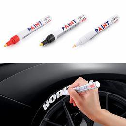 Набор цветных ручек водонепроницаемый резиновый перманентный маркер краски авто шины протектор экологические шины маркер DLH208 от Поставщики детские товары