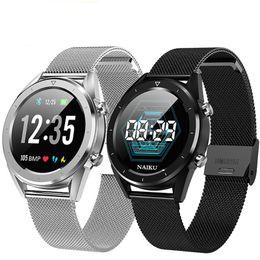интеллектуальные спортивные часы gps tracker Скидка DT28 Мужчины Smart Watch IP68 Водонепроницаемый ЭКГ Монитор сердечного ритма артериального давления Фитнес-Трекер Smartwatch Спорт умный браслет