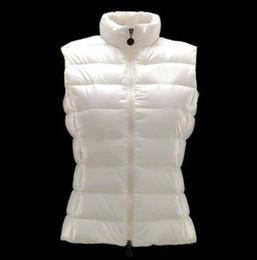 Canada Mode M1 Marque Femmes hiver Chaud Unisexe Vers Le Bas Vest Vestes Femmes Casual Down Gilets Manteau Gilet Taille: S-2XL Offre