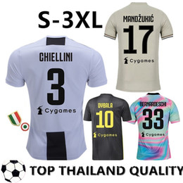 competitive price ea6cf b8924 2019 dybala kids jersey Thailand EA Sports RONALDO Juventus 2019  Fußballtrikots DYBALA 18 19 EA Sports