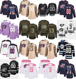 2019 All Star Columbus Blue Jackets Jersey Seth Jones Jack Johnson Zach  Werenski Alexander Wennberg Nick Foligno Sergei Bobrovsky Jerseys 5xl hockey  jerseys ... d6ad61789