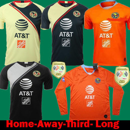 daecbdb005873 Discount club america green jersey - DHL Shipping 2018 2019 MX Club America  Home Soccer Jerseys