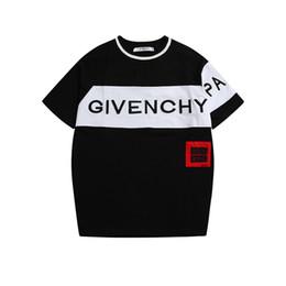 2019 camisetas de estilo de béisbol de las mujeres Moda de lujo para hombre diseñador camisetas de algodón impreso camiseta hombres de alta calidad hombres mujeres Hip Hop camisetas E01