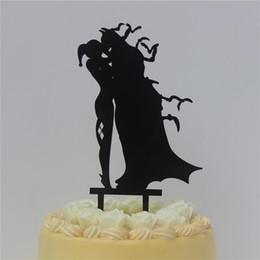 Canada Batman Harley Quinn de gâteau de mariage acrylique Offre