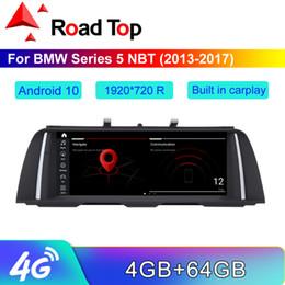 """carro rádio gps wifi hyundai Desconto 10,25 """"/12.5"""" 1920 * 720 R Android 10 de tela para 5 F10 / F11 NBT 2.013-2.017 com a Rádio Navegação GPS Bluetooth Stereo Multimedia dvd carro"""