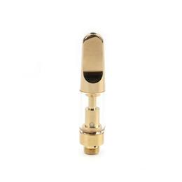 Canada 2019 1 ml TH205 TH210 cartouche de vape Pointe en céramique dorée pour huile visqueuse épaisse de CO2 Offre