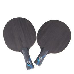 2019 raquetes de tênis de mesa dupla felicidade Fibra De carbono Pingpong Raquete Preto Ao Ar Livre Equipamento Desportivo Raquete De Tênis De Mesa Criativo Dureza Alta Para Mulheres Dos Homens