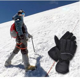 Deutschland Mode Design Winter Elektrisch Beheizt Herren Handschuhe Erwärmung Tragbare Batterie Weiche Outdoor Sports hohe qualität Warme Zubehör @ 30 supplier heat warmer gloves Versorgung