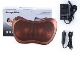 12V oreiller électrique infrarouge soins thermiques traction colonne cervicale voiture de bureau à domicile pour la taille épaule dos jambe bras relaxation massage coussin ? partir de fabricateur