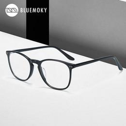 runde brillen mens Rabatt BLUEMOKY Brille Mann optische Gläser Frames Brillen Modedesigner Runde Brillen Männer Zubehör 2019 BT2011
