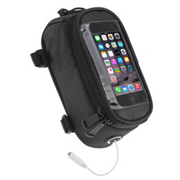 желтый водонепроницаемый чехол Скидка Велосипед рама сумка, 5,5 дюйма передняя трубка Велоспорт пакеты водонепроницаемый экран чехол для мобильного телефона(L, желтый)