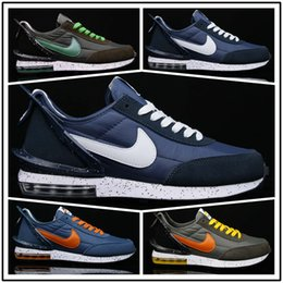 2020 grüne frauen blazer [Mit Sportuhr] 2019 Designer shoes men women Nike AIR MAX neue authentische LD LDV Waffel Sacai VARSITY Blau Grün GUSTO Multi Daybreak Red Blazer Mid Dunk Men Outdoor Schuhe günstig grüne frauen blazer