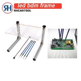 ferramenta de ajuste de kess Desconto New LED BDM Quadro Programador Conjunto Completo Para KESS / KTAG / Fgtech Galletto BDM100 ECU Chip Tuning Ferramenta para carro com 4 Canetas de Sonda