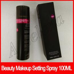 Maquillaje facial online-2019 Beauty Face maquillaje descansando boss face Impermeable Spray de ajuste acabado ultra mate 100ml Imprimación facial de larga duración envío gratis