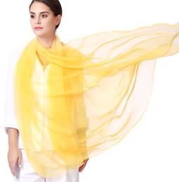 Deutschland 2019 Frühling und Sommer arbeiten neuen weiblichen Schal des großen Normallacksimulationsseidenreisesonnenschutz-Strandschals um freies Verschiffen cheap large silk chiffon scarves Versorgung