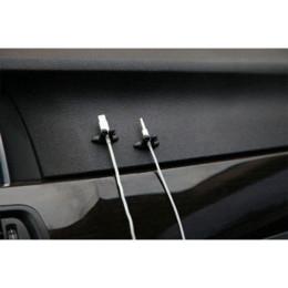 Rangement de câble en Ligne-8pcs pince pour câble de voiture fil support de câble de rangement range organisateur bien rangé pince adhésive ligne fixateur en gros