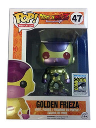 Funko Pop Anime giapponese Dragon Ball GOLDEN FRIEZA RED EYE Limited 47 # Vinile Action Figure Collection Toys for Children Regalo di Natale da