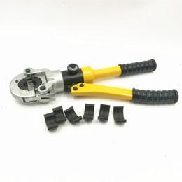 Druckform online-Hydraulisches Pex-Rohr TH Mold 16 20 26 32 Crimpzange CW-1632 Fußbodenheizung Rohrleitungsdruckklemme 10T