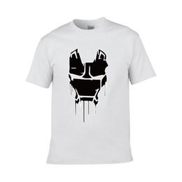 Dessus de fer en Ligne-Mark Ii T-Shirt Armor Eyes - T-shirt Casual Homme Imprimé Iron Iron Tony 2019 Designs pour Homme Multi-Colo