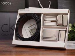 standardnadelgröße Rabatt Luxus Gürtel mit Modemarke Echtes Rindsleder Gürtel Lässige Mode Herren Nadel Schnalle Hohe Qualität Größe 105-125 cm