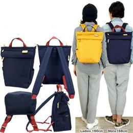 Wholesale 10 cor Saco HMF Japão Coração Feito Fábrica Camping Outdoor Caminhadas Weekender Backpack Travel Bag Escola Student Tote Mochila