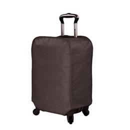 Coperture impermeabili della valigia online-Custodia per valigia bagaglio Custodia impermeabile e resistente all'usura Maglia non trainata Valigia a prova di polvere Accessori coperchio di protezione