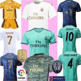 2019 2020 Real Madrid camisa de futebol PERIGO futebol Jersey N L Y H A R J R # 10 ISCO RAMOS BENZEMA MODRIC BALE MARCELO de