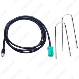 2021 iso-adapterkabel CAR Auto Mini ISO 6-Pin auf 3,5 mm Klinke-AUX-Kabel mit Removal Keys für Renault OEM-Radio Wire Adapter # 5732