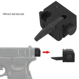Argentina Venta al por menor Táctica Parte trasera Airsoft Selector de accesorios Cambio automático automático Interruptor automático táctico para G17 G19 G22 G23 Suministro
