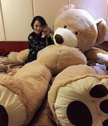 Цена по прейскуранту завода-изготовителя 200 см большой рот плюшевого мишку пальто пустые игрушки кожи плюшевые игрушки гигантские игрушки темно-коричневый / светло-коричневый cheap plush bears skins от Поставщики плюшевые медведи