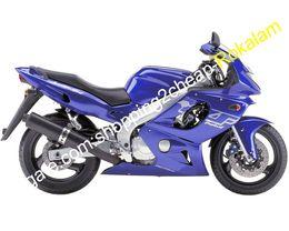 Kit de carenado yamaha thundercat online-Los carenados de la moto para Yamaha YZF 600R Thundercat YZF600R YZF600R 1997 ~ 2007 kit azul oscuro Carrocería del carenado del mercado de accesorios