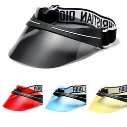Tipos sombreros gorras mujeres online-Tipo de piloto Mujeres Sombrero para el sol Resina Capa de protección solar de verano Prueba ultravioleta Sunbonnet Moda simple Práctica Venta caliente 24md D1kk