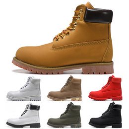 Timberlandboot designer luxury boots for mens winter boots top quality womens men Military Triple White Black Camo booties 36 45