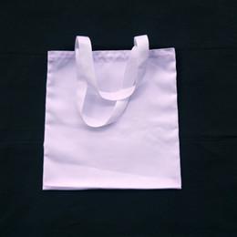 wasserdichte unterwäsche Rabatt 12 teile / los leere weiße 12 unze 100% poly leinwand einkaufstasche für sublimationsdruck leere weiße 15x15 in poly einkaufstasche für wärmeübertragung