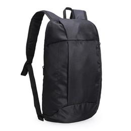 Mochilas plegables online-Hombro de las nuevas mujeres Mochila pequeña bolsa de viaje al aire libre Deporte honda mochila de nylon Oxford impermeable ligero plegable