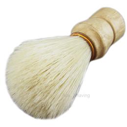 6 Morceaux De Poils De Sanglier Poignée En Bois Rasage Savon Pinceau Salon De Coiffure Accessoire Gromming Outil ? partir de fabricateur
