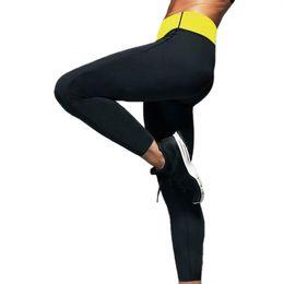 Argentina Leggings de neopreno Shaper Manga larga Legging Sudor Adelgazante Mujeres Fitness Body shaper wear Mujeres Tanques Pantalones Tallas grandes # 73859 cheap xxl tanks Suministro